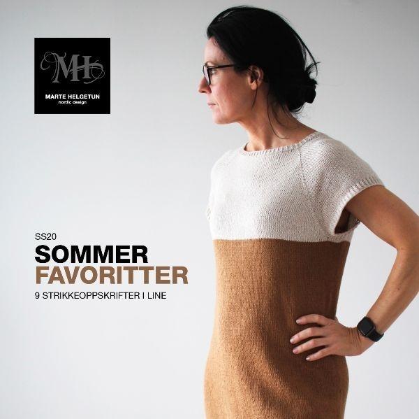 Mønsterhefte, Sommerfavoritter, Marte Helgetun