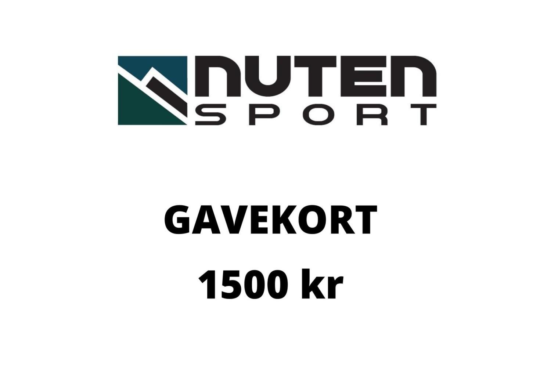 Gavekort kr 1500