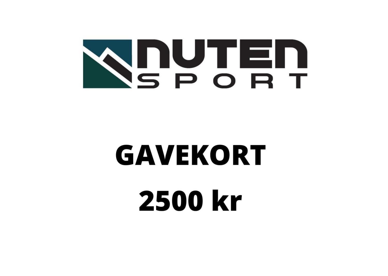 Gavekort kr 2500