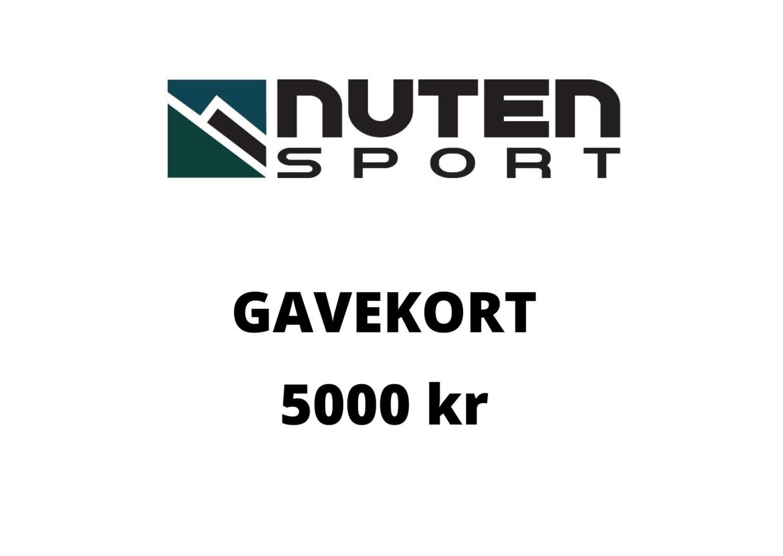 Gavekort kr 5000