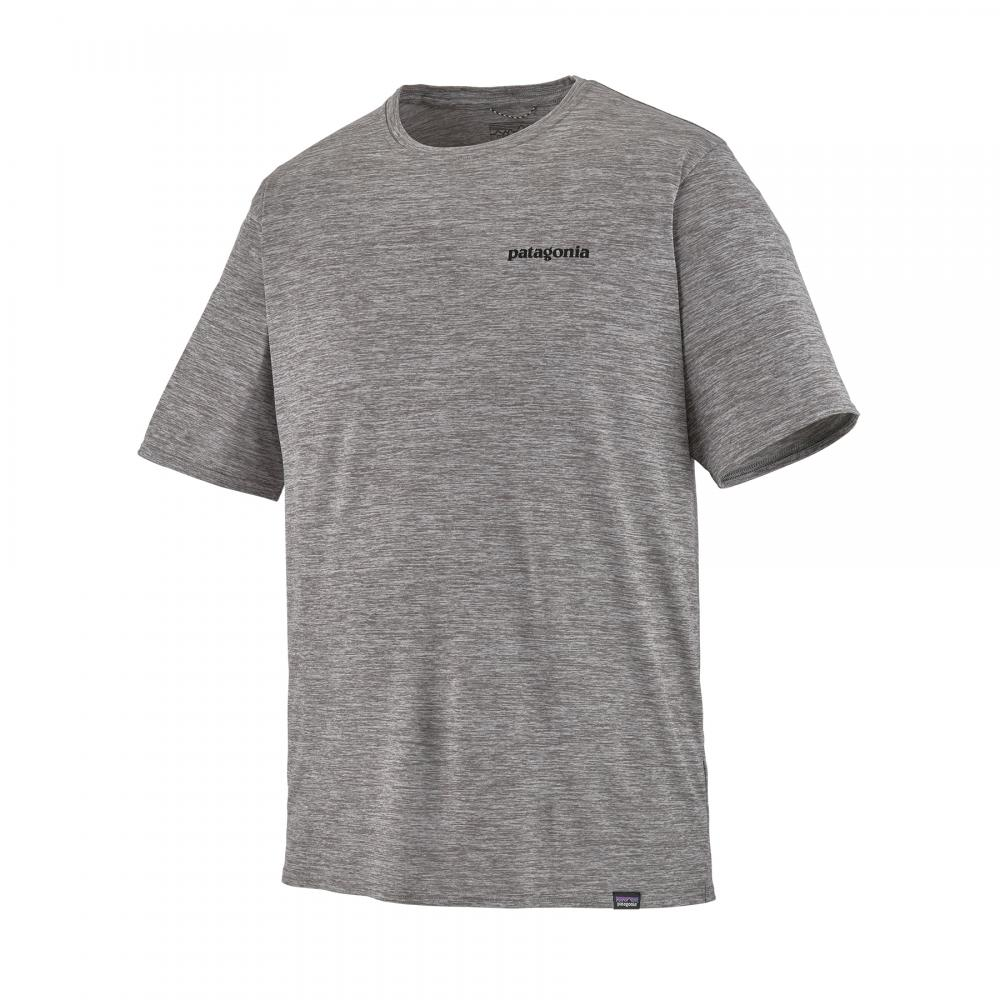Patagonia  M´S Cap Cool Daily Graphic Shirt Feather Grey