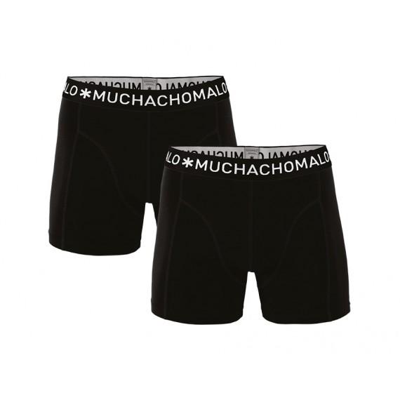 Muchachomalo boxershorts basic 1010 BOXER SOLID 2PK 02