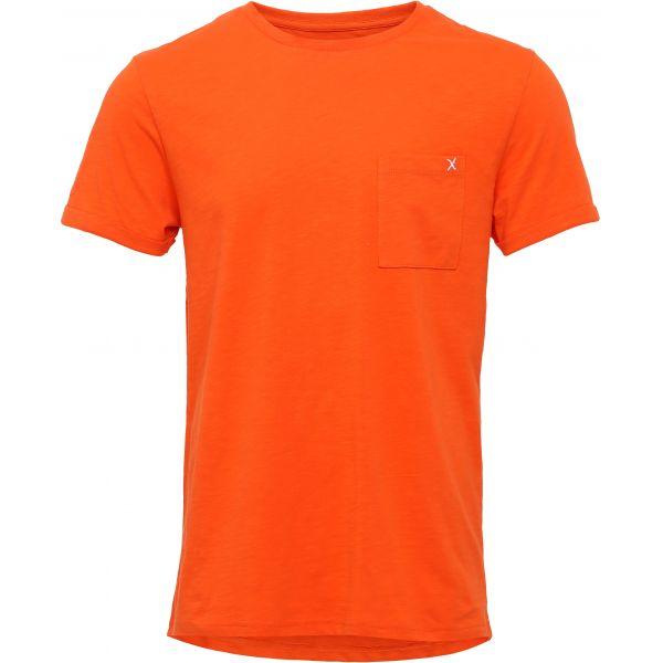 Clean Cut Kolding Tee Orange Basic T-skjorte