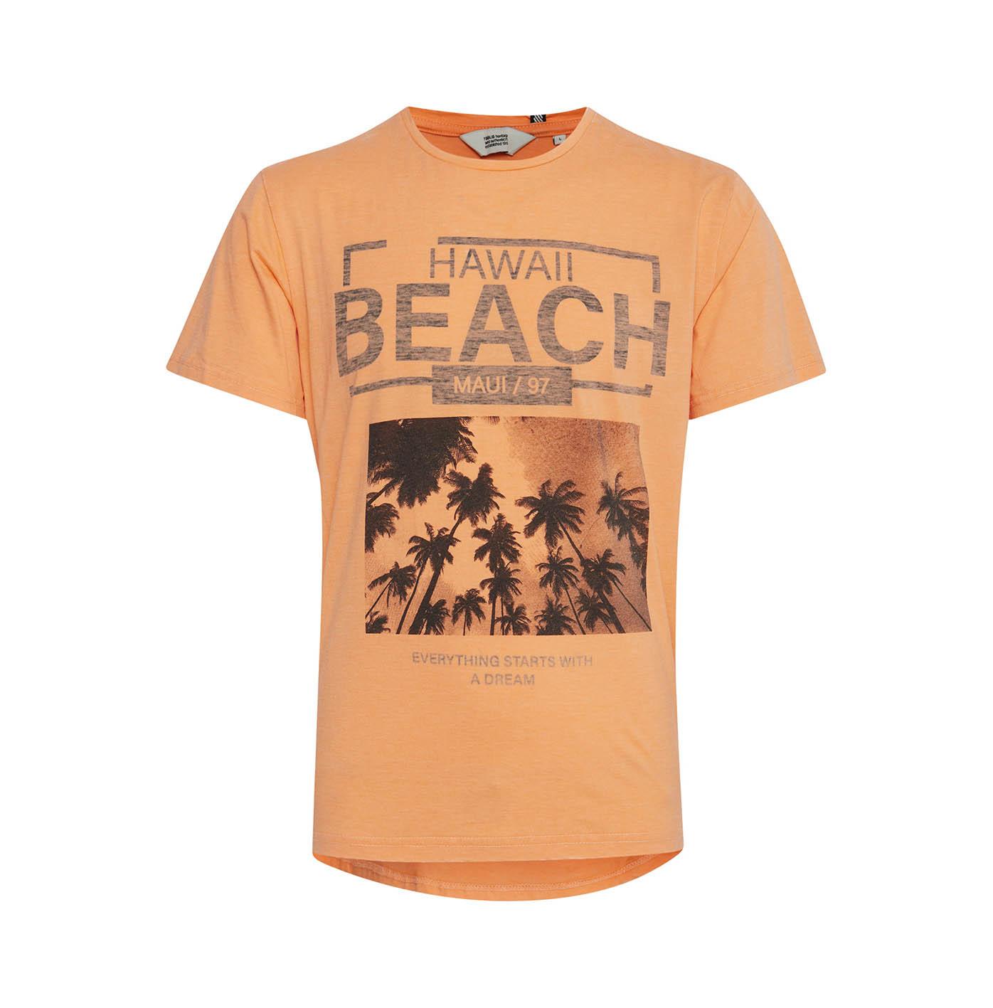 Solid T-shirt Joan Orange