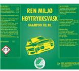 REN MILJØ HØYTRYKKVASK 25 L