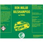 REN MILJØ BILSHAMPO M/VOKS SVANE 25 L