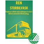 REN STORBILVASK 200 L