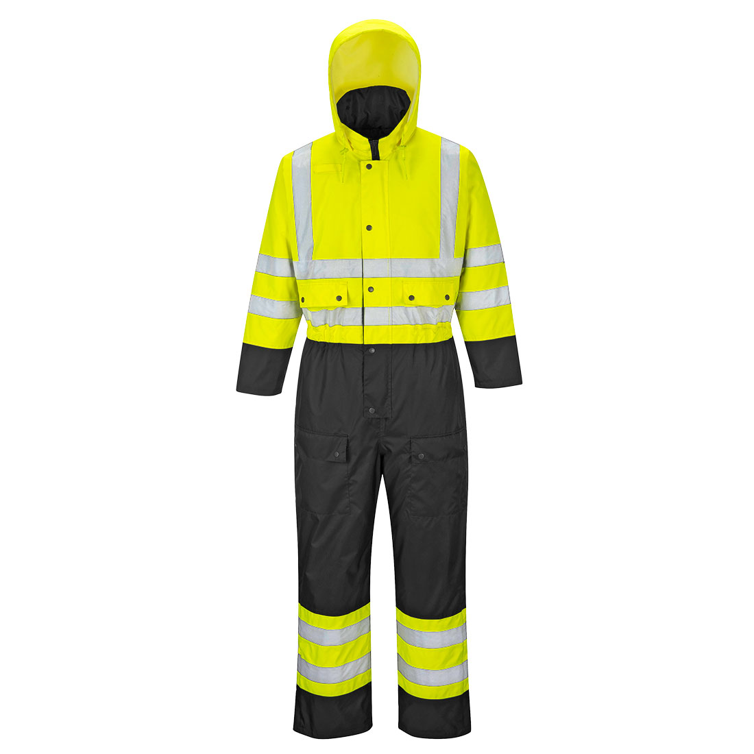 Contrast Coverall Lined vinterdress
