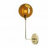 Ballroom Vegglampe 57cm Amber