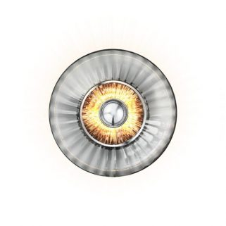 New Wave Optic Vegglampe
