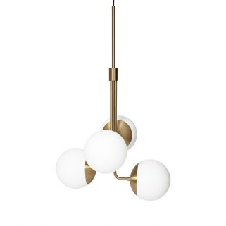 Lord Bouquet Taklampe Brass