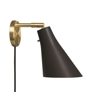 Miller Vegglampe Messing