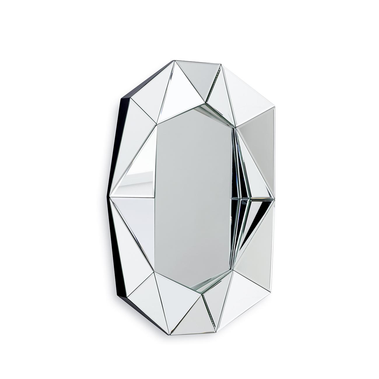 Speil Diamond Small Sølv