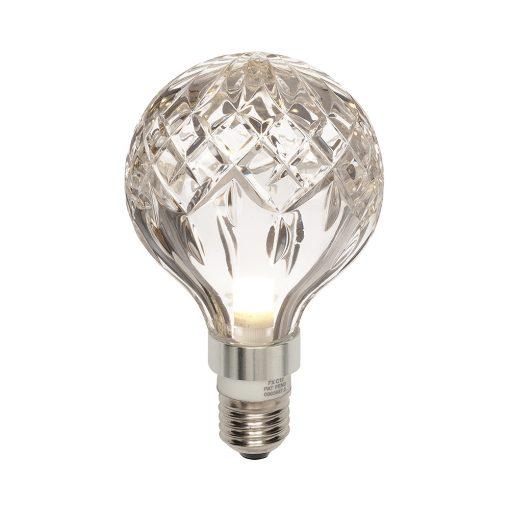 Crystal Bulb m/LED pære Klar