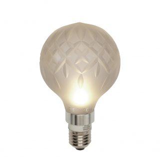 Crystal Bulb m/LED pære Frostet