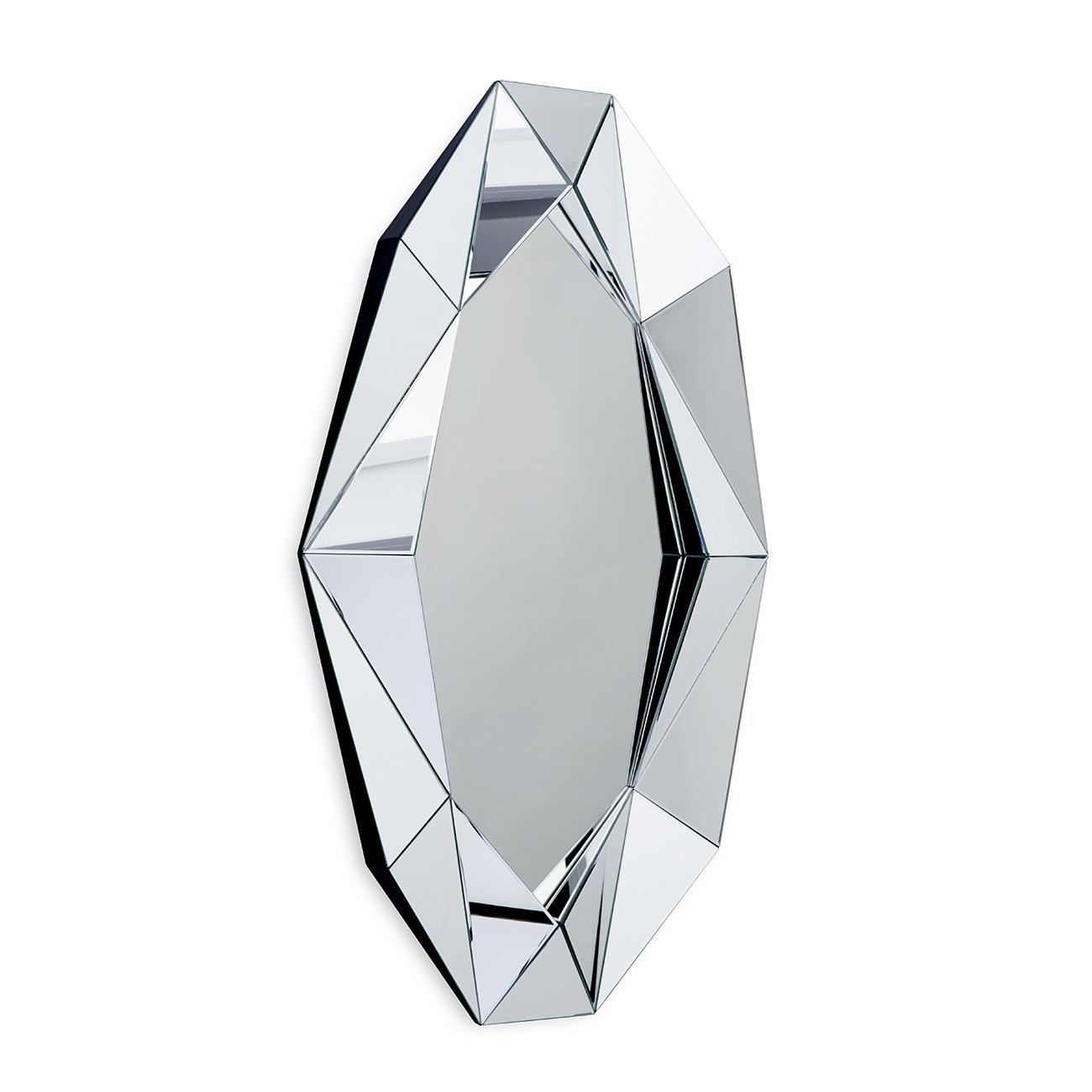 Speil Diamond XL Sølv