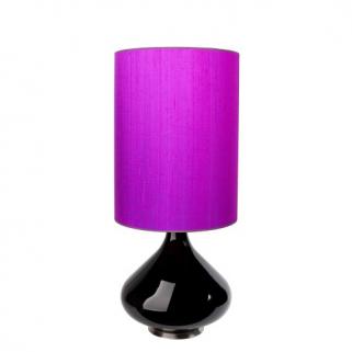Flavia Bordlampe Sterk Lilla 40x30
