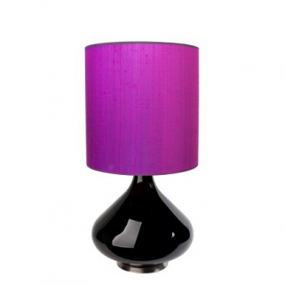 Flavia Bordlampe Sterk Lilla 30x30