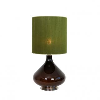 Flavia Bordlampe Olivengrønn 30x30