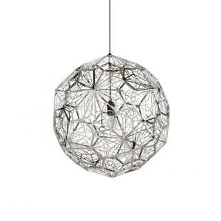 Etch Web Taklampe Stål