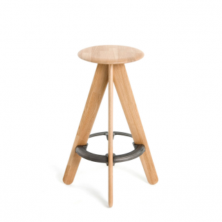 Slab Barstool Natural