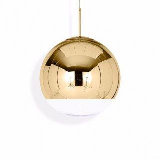 Mirror Ball Gold Taklampe 50