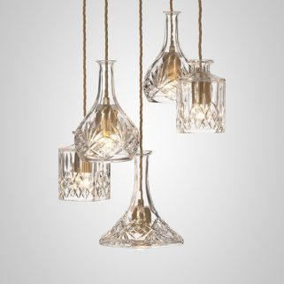Decanterlight Lysekrone Crystal