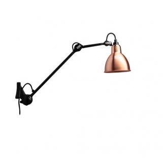 N222 BL Kobber Vegglampe
