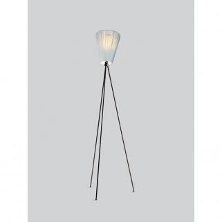 Oslo Wood Glossy Sort Lampefot