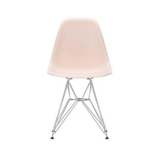 Eames Plastic Side Chair DSR Chromed