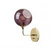 Ballroom Vegglampe 37cm Purple