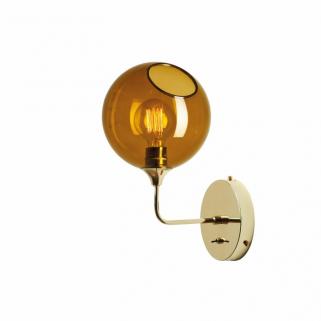 Ballroom Vegglampe 37cm Amber