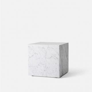 Plinth Cubic Marmor Sidebord
