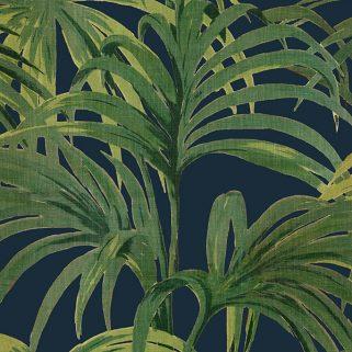 Tapet Palmeral Midnight/Green