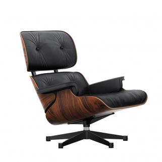 Lounge Chair - Palisander Polished/Sides Black