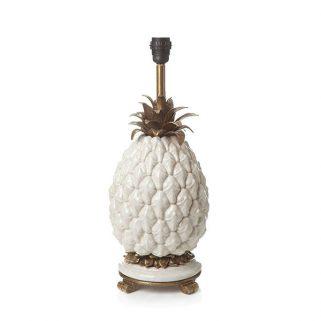 Ananas Lampefot Hvit