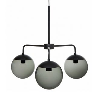 Lord 3 Taklampe Black