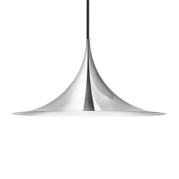 Semipendel Taklampe Metall Ø60