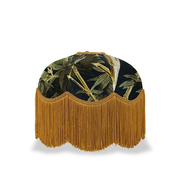Bambusa Lampeskjerm Midnight