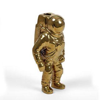 Starman Astronaut Vase Gull