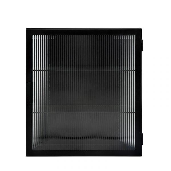 Veggskap m/Rillet Glass