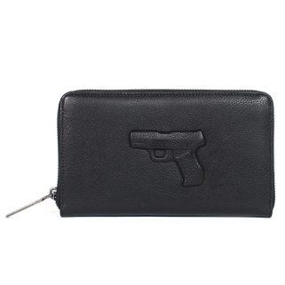 Lommebok Pistol Sort