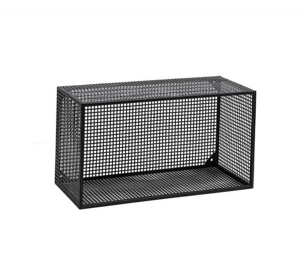 Hylle Wire Box Sort L