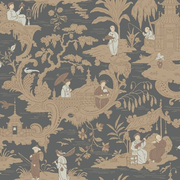 Tapet Chinese Toile