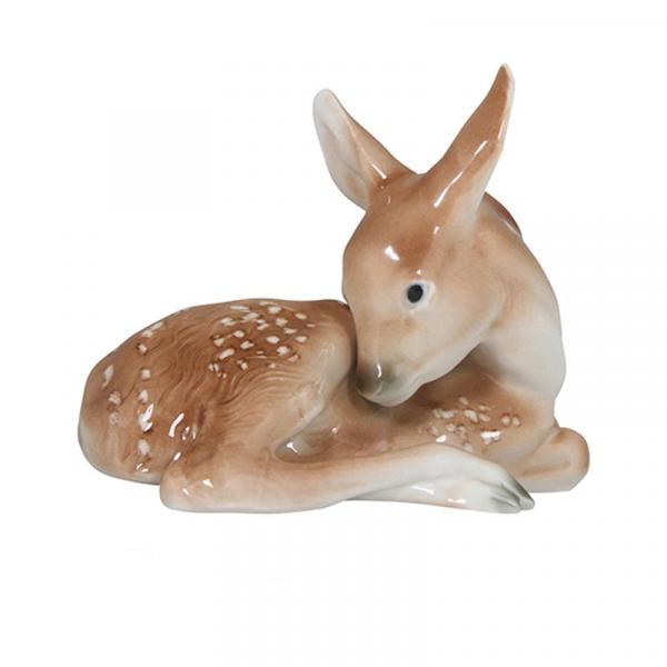 Porselensfigur Lille Bambi