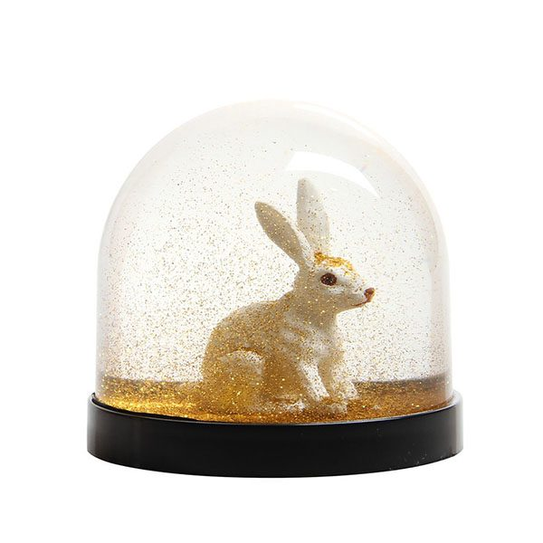 Snøkule Kanin