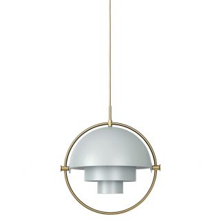 Multi-Lite Taklampe Grå/Messing