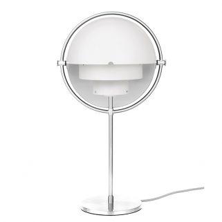 Multi-Lite Bordlampe Hvit/Krom