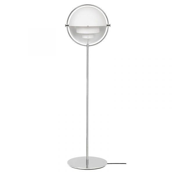 Multi-Lite Gulvlampe Hvit/Krom