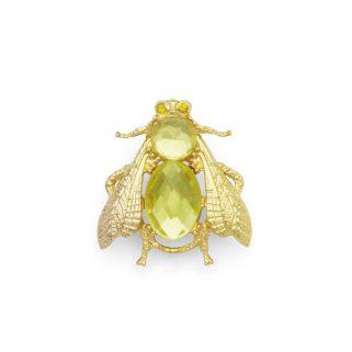 Brosje Smeralda Yellow